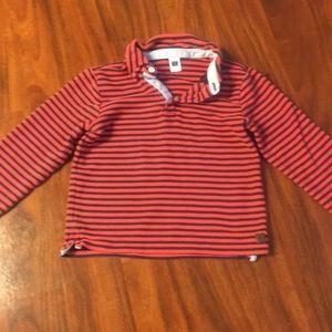 Janie and jack boys shirt size 6
